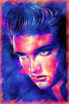 """Elvis """"Der König"""" Presley (Kunst)"""
