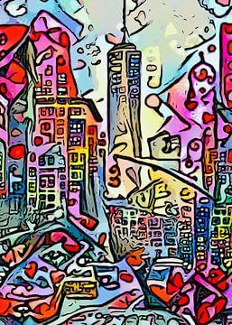 Big Apple - Motiv 3 von zam art