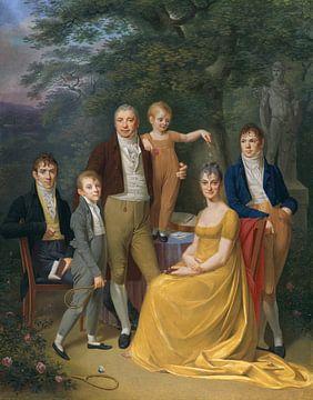Portrait de famille, Caspar David Friedrich sur