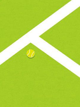 Rasen-Tennisplatz von MDRN HOME