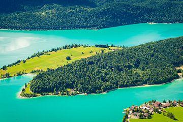 Walchensee in de zomer