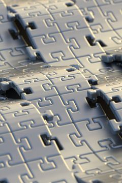 Puzzle Waves van Jörg Hausmann
