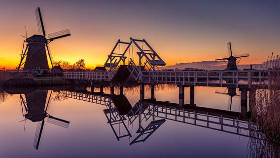 Sunset @ Kinderdijk