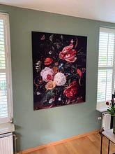 Kundenfoto: Blumenarrangement, Jan Davidsz. de Heem, als akustikbild