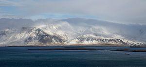 Panorama IJsland  van Hannie Bom