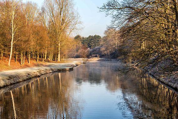 Watergebied in de Amsterdamse Waterleiding Duinen van Jaap Mulder