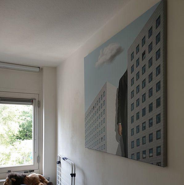 Kundenfoto: Please Smoke Outside von Marja van den Hurk, auf leinwand