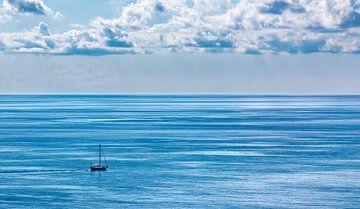 Boot auf dem Meer von Thomas Heitz