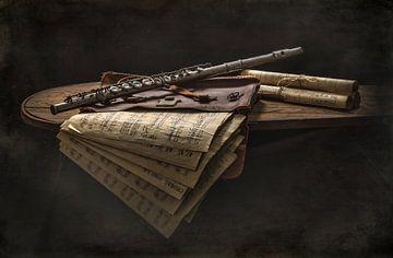 Photo Art avec flûte transversale sur Danny den Breejen
