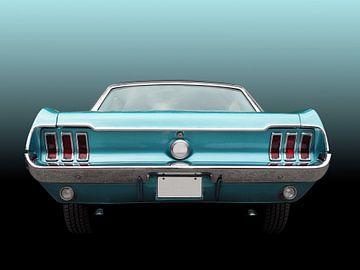 Mustang 1967 voiture classique américaine coupé sur Beate Gube