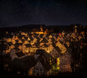 Weihnachtsdorf  Freudenberg, Deutschland von Dennis Donders