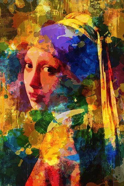Hommage an Johannes Vermeer von Harry Hadders