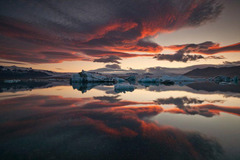 ... gletsjerlagune, Raymond Hoffmann van 1x
