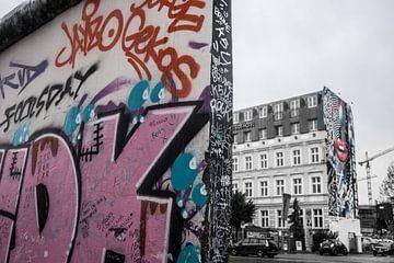 Berlijnse muur van Bianca Boogerd