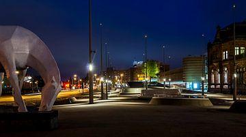 Paard van ome Loeks station Groningen von Marcel Braam