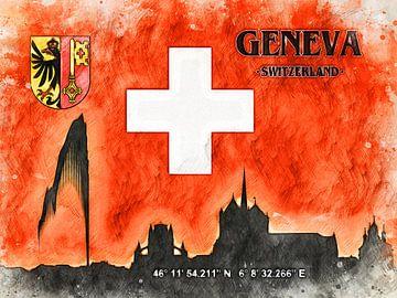 Genf von Printed Artings