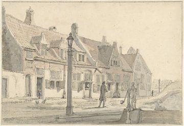 Im Koepoort in Delft, Johannes Jelgerhuis,