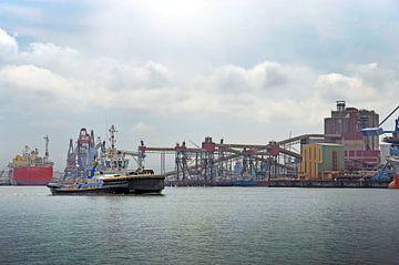 Europoort Rotterdam: de haven in kleur van Frans Blok
