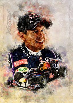 Sebastian Vettel von Theodor Decker