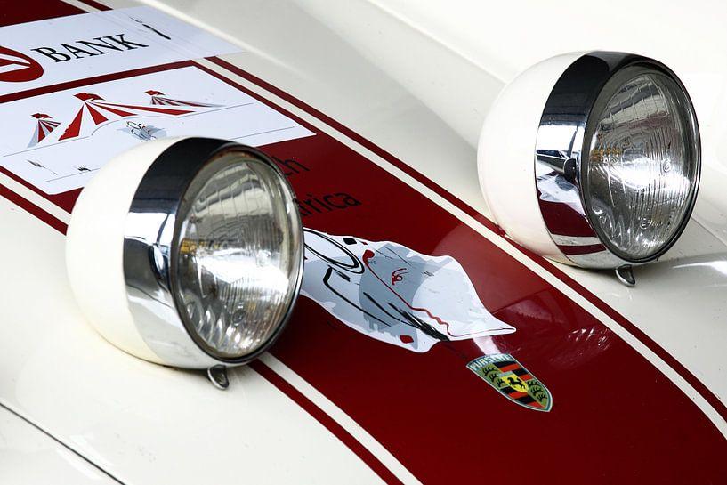 Retro Porsche von MSP Canvas