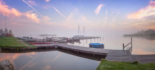 Panorama Leekstermeer Vakantiepark Cnossen