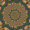 Cirkels van Spiralen van Tropische Vissen II van Tis Veugen thumbnail