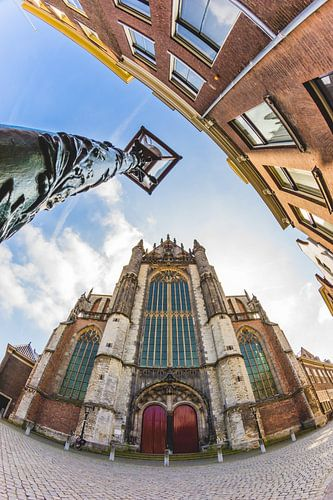 Hooglandse kerk, Leiden van