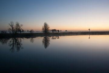 Nebeliges morgen von Nathalie van der Klei