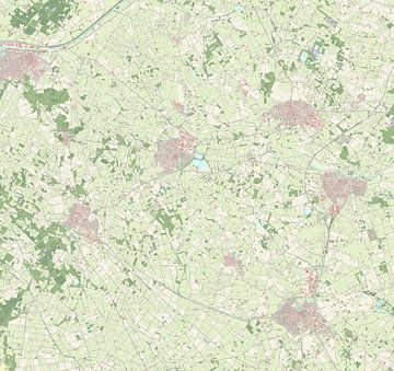 Kaart vanBerkelland