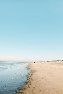 Noordwijk aan Zee | Strandfotografie Der niederländische Sommertag von Raisa Zwart