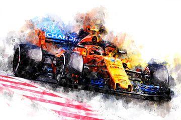 Alonso F1 2018 van Theodor Decker