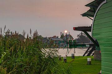 Zaanse Schans bei Sonnenuntergang von Karin Riethoven