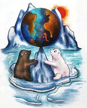 Red onze planeet van Petra Rivers