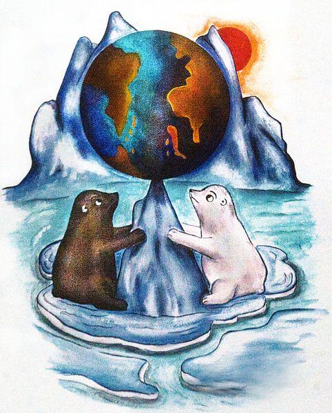 Save Our Planet No3 von Petra Rivers