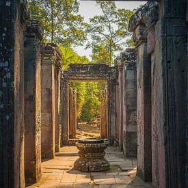 Een vroege ochtend in Angkor Wat, Cambodja van Henk Meijer Photography