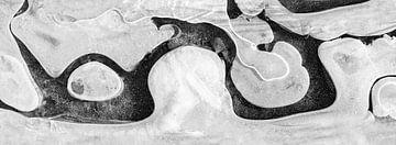 IJs abstractie in panorama van Ko Hoogesteger