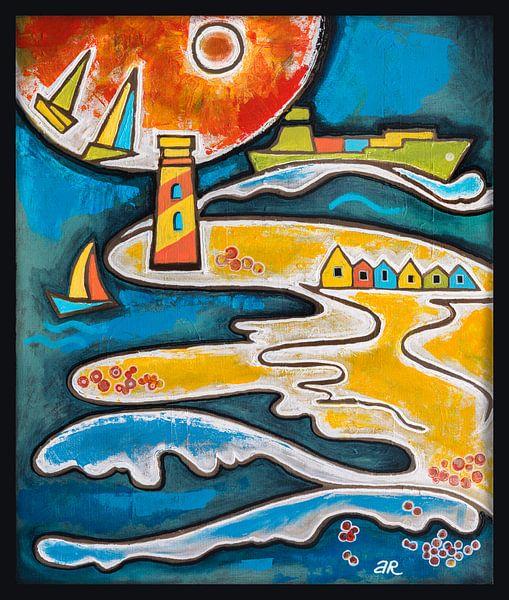 zee (beach life) van Ariadna de Raadt-Goldberg