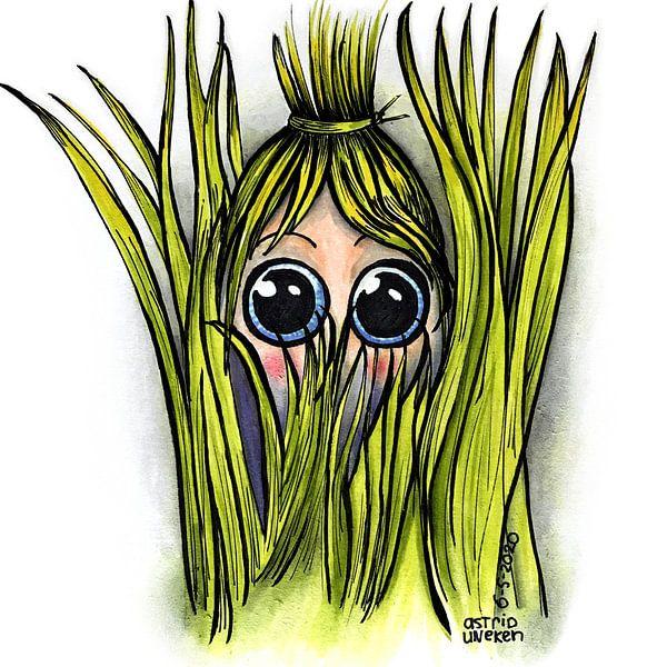 Versteckt im Gras von Astrid Uneken