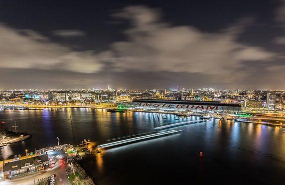 A'DAM toren - Panoramaview over Amsterdam. (9) van Renzo Gerritsen