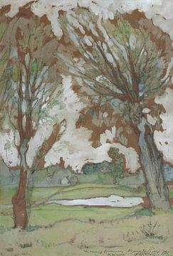 Isaac Brodsky - Eine Frühlingslandschaft