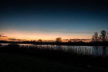 Zonsondergang van S van Wezep
