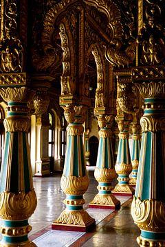 Paleisdetails in Mysore