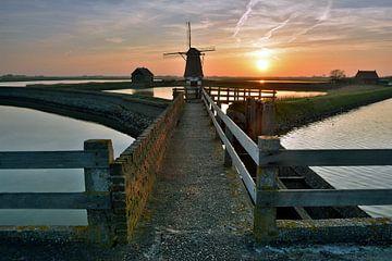 Molen het noorden  op Texel van