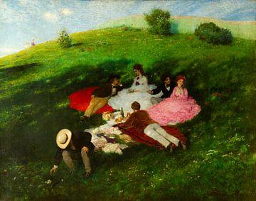 Picknick in mei, Pál Szinyei Merse