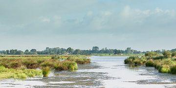 Hollands polderlandschap van Henk van den Brink