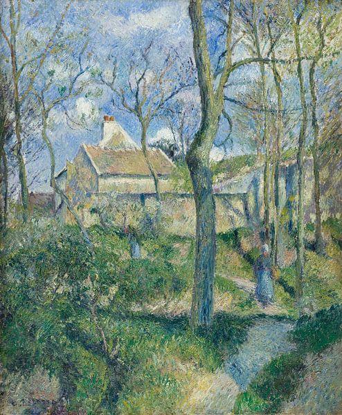 Paul Cézanne. Landschap in Frankrijk van 1000 Schilderijen