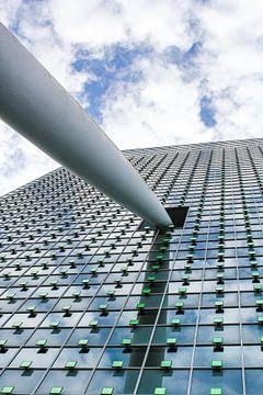 De punt van het KPN gebouw van Petra Brouwer