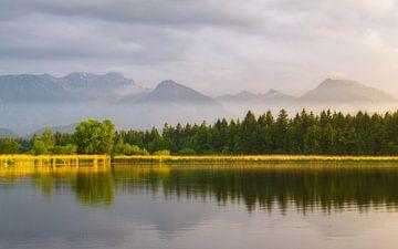 Hopfensee dans la Bavière allemande sur Jos Pannekoek