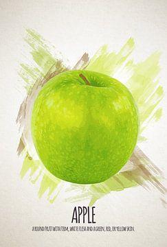Fruities Apple sur Sharon Harthoorn