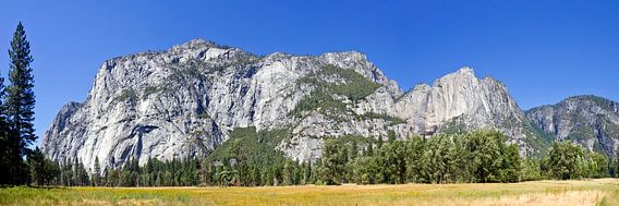 YOSEMITE VALLEY Panoramic II van Melanie Viola